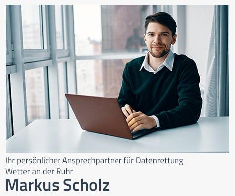 Ansprechpartner Datenrettung für Wetter an der Ruhr